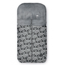 Pirulos saco de invierno estampado cremallera central silla de paseo