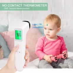 Babify Termometro Infrarojos Sin Contacto Para Adultos Y Niños 4 En 1