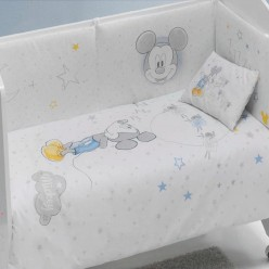 Interbaby Set cuna edredon y chichonera Disney