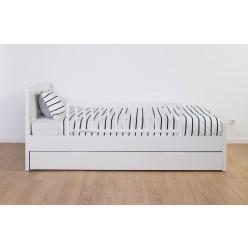 Childhome barrera de seguridad cama 120cm blanca