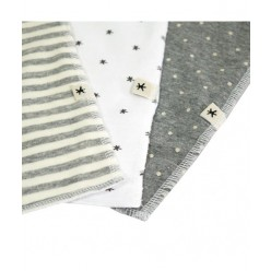 Fundas bcn Pack toallitas babitas lavables Grey Mix